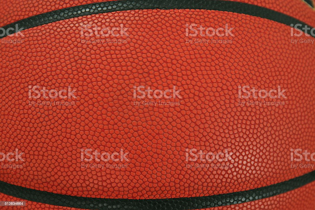 basketball with space for text stock photo