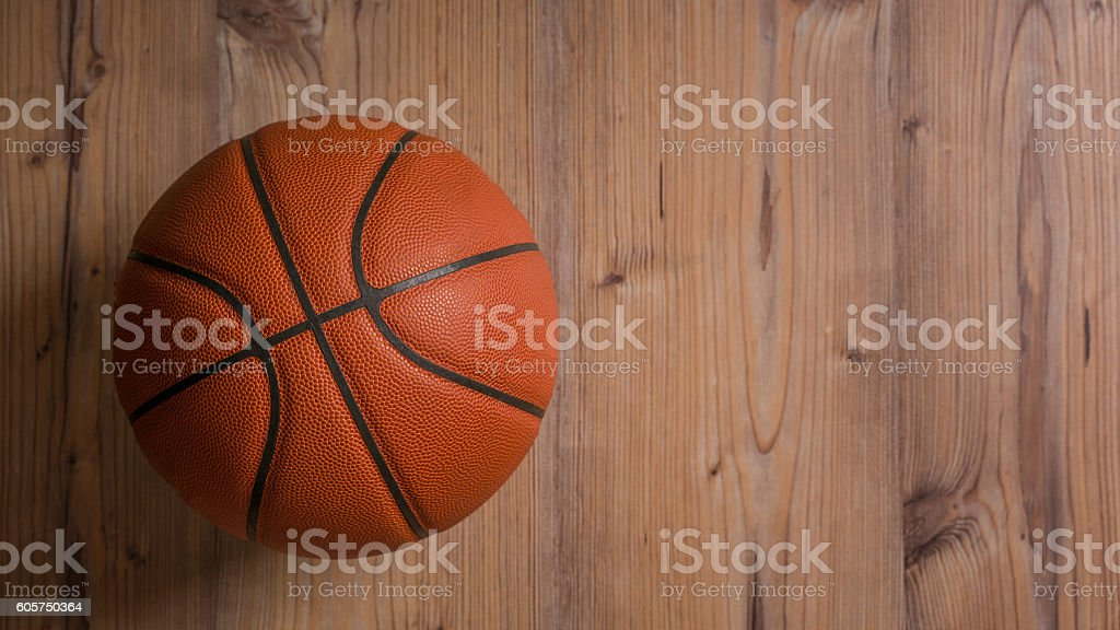 Basketball-ball stock photo