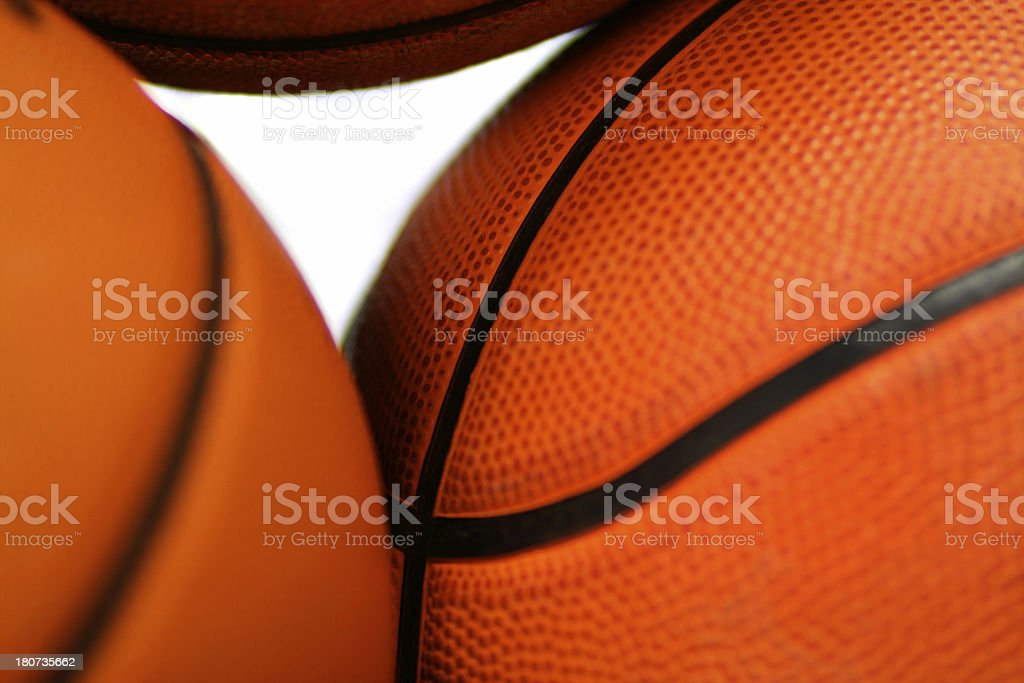 Basketballs royalty-free stock photo