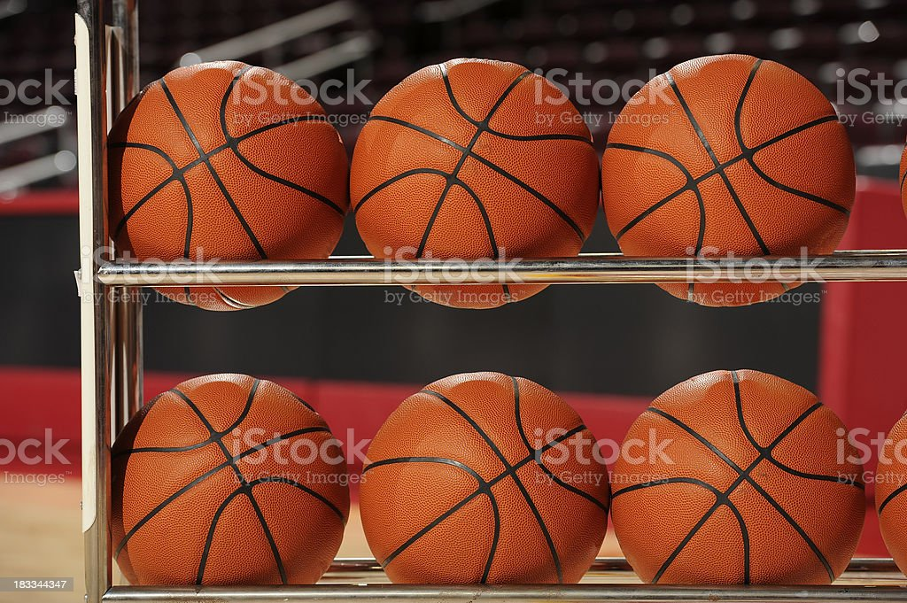 Basketballs stock photo