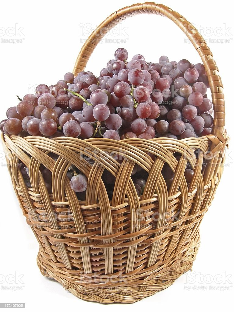 Basketful stock photo