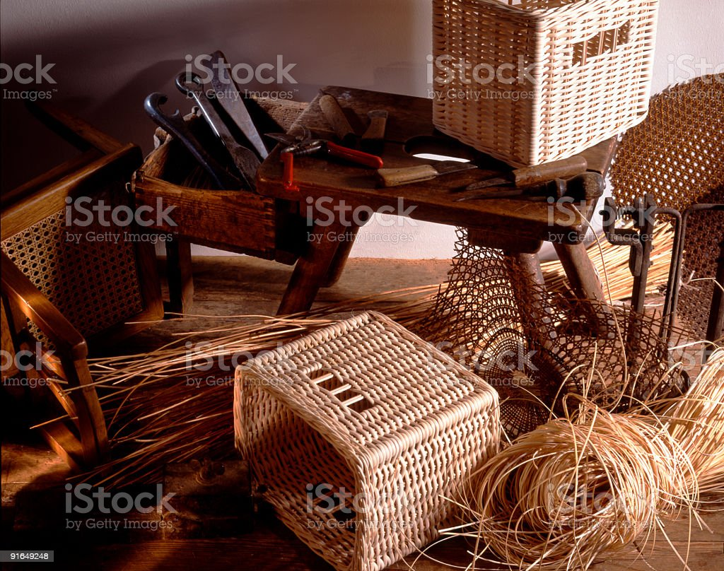Korbmacher stock photo