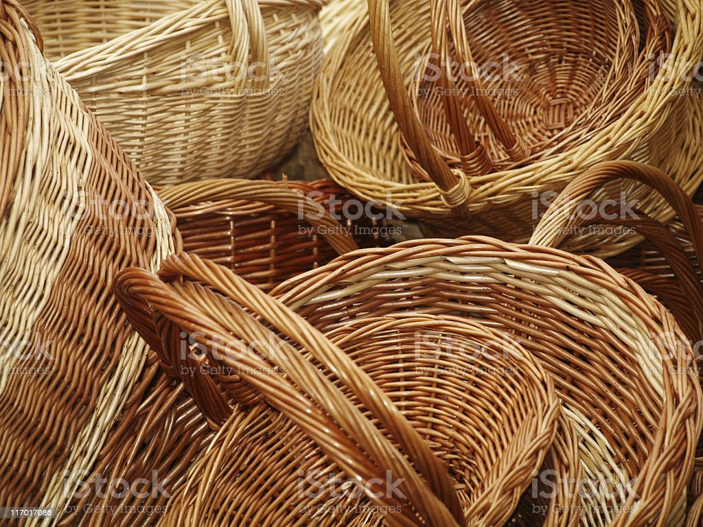Baskets royalty-free stock photo
