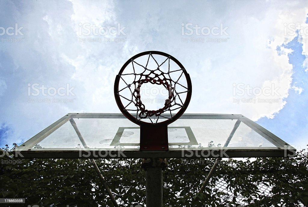baskettball royalty-free stock photo