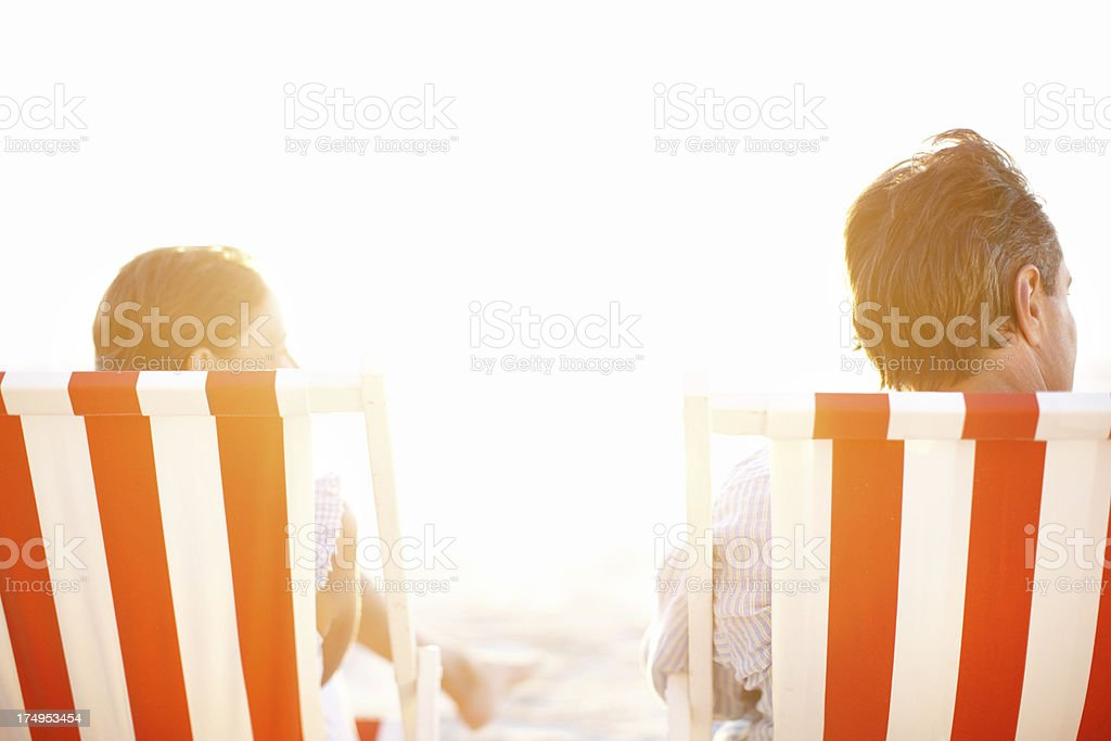 Basking in the sun together royalty-free stock photo