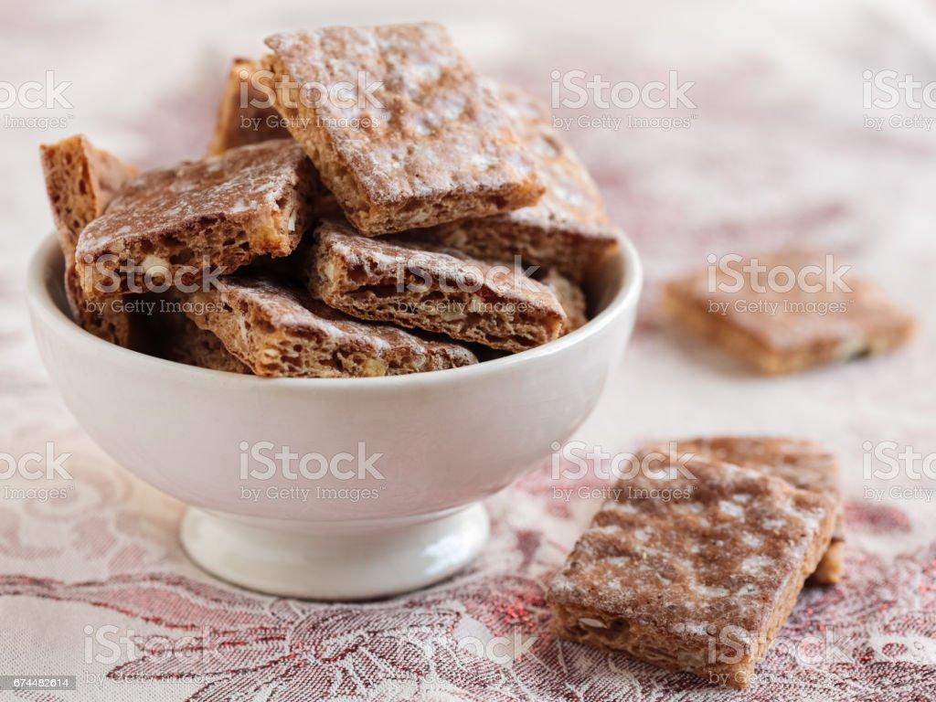 Basler Leckerli (Basel cookies) stock photo