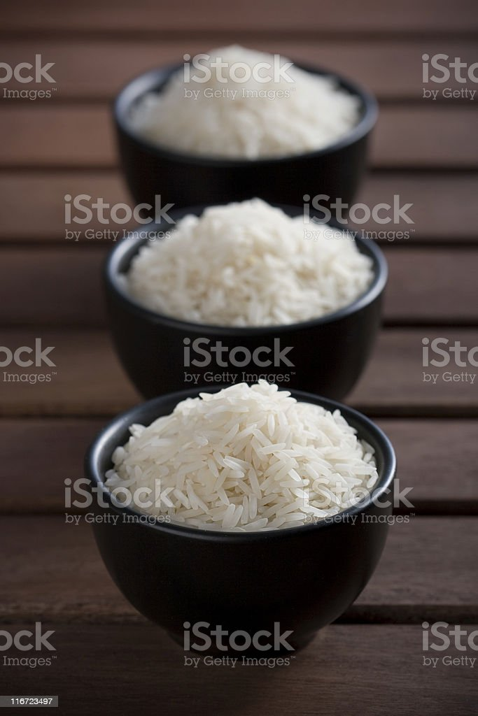 Basmati rice royalty-free stock photo