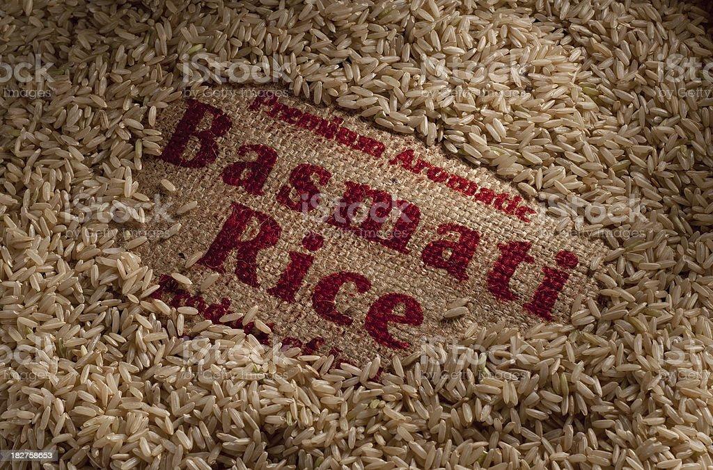Basmati Rice royalty-free stock photo