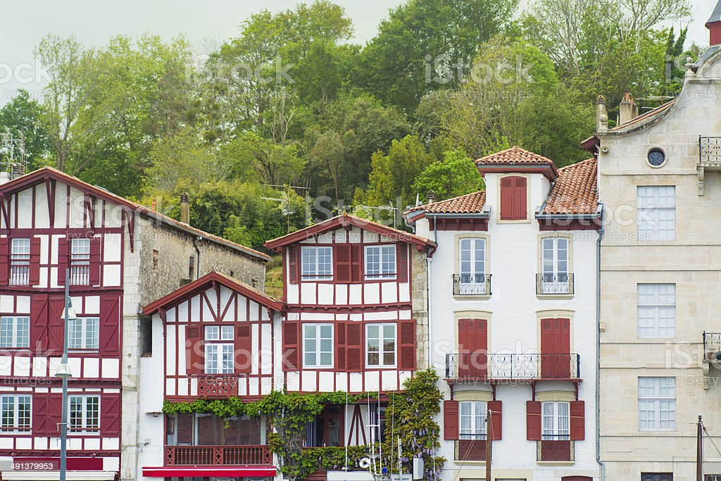 Basque Architecture stock photo