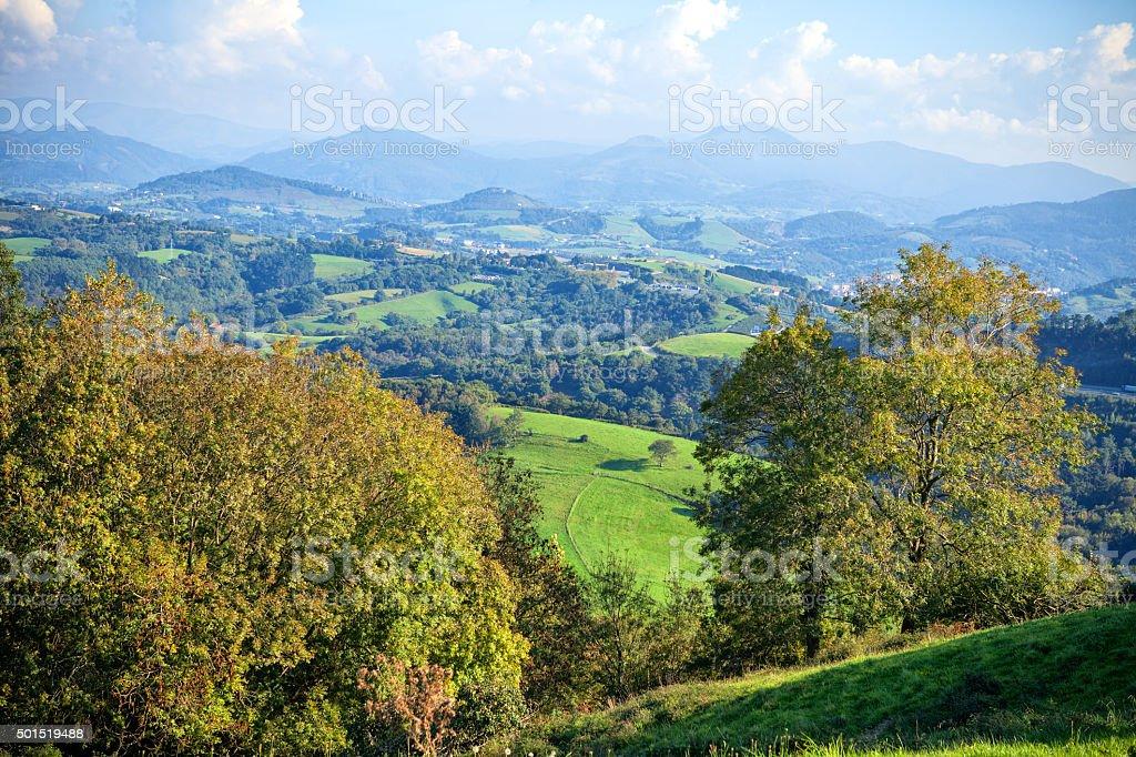 Basque Country stock photo
