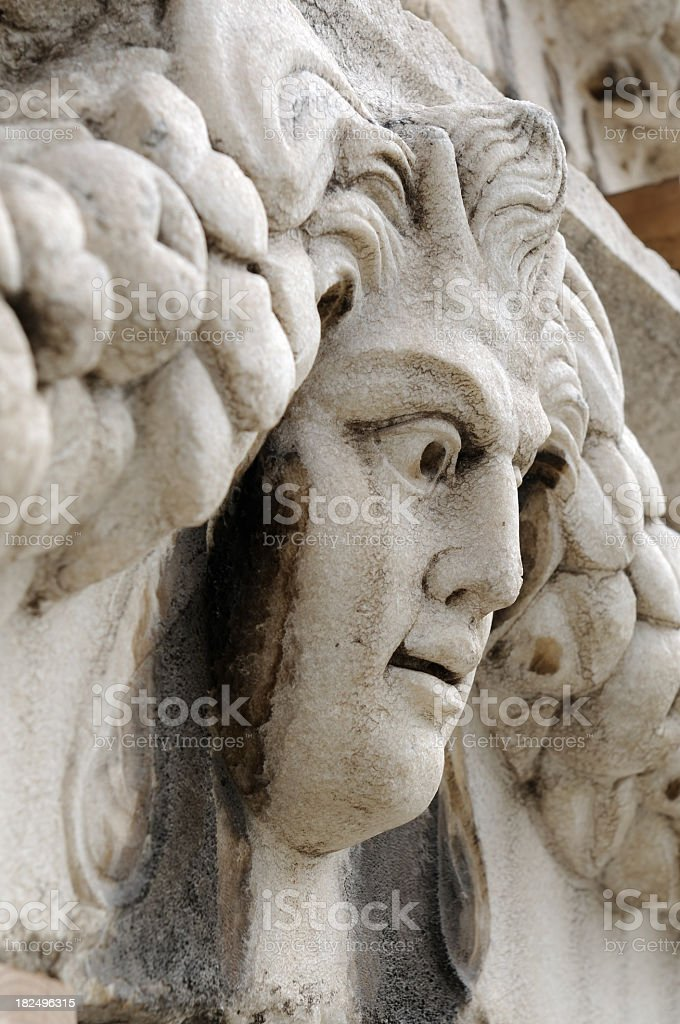 Bas relief royalty-free stock photo