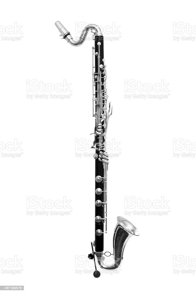 Bass Clarinet stock photo
