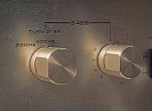 Bass control button