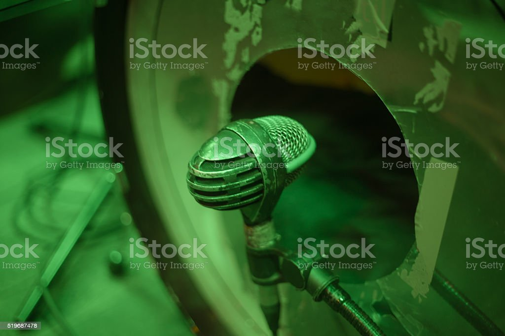 Bass drum micro stock photo