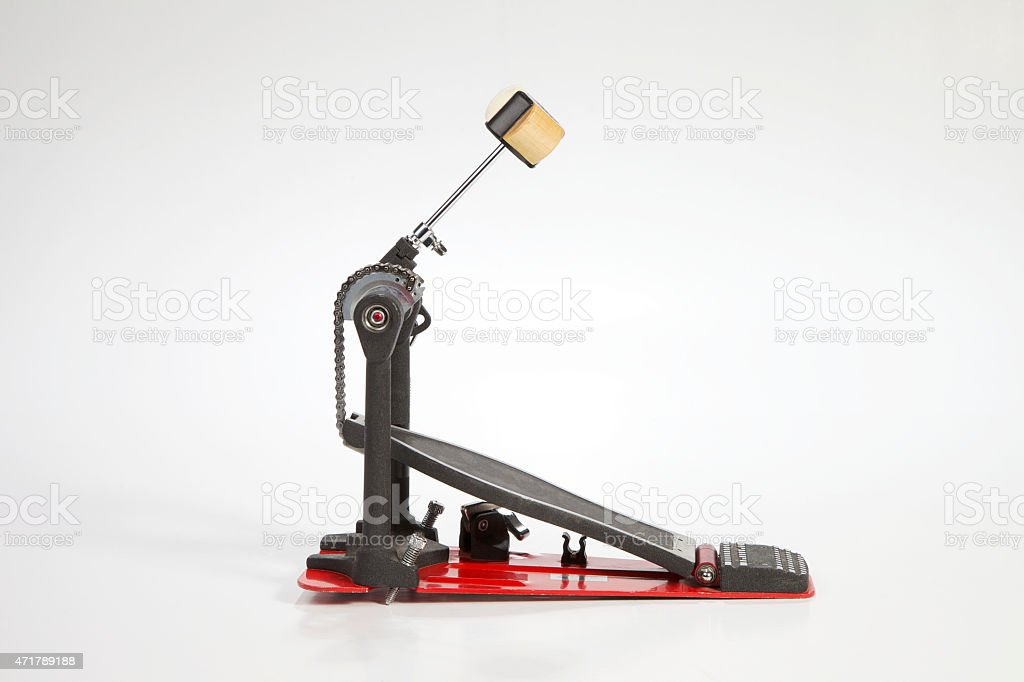 Bass Drum Pedal stock photo