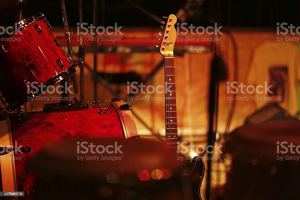 Bass Drum royalty-free stock photo
