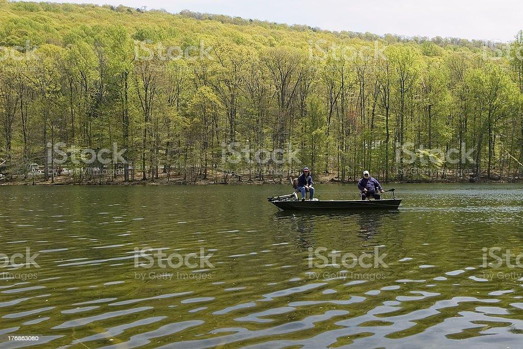 Bass Fishing stock photo