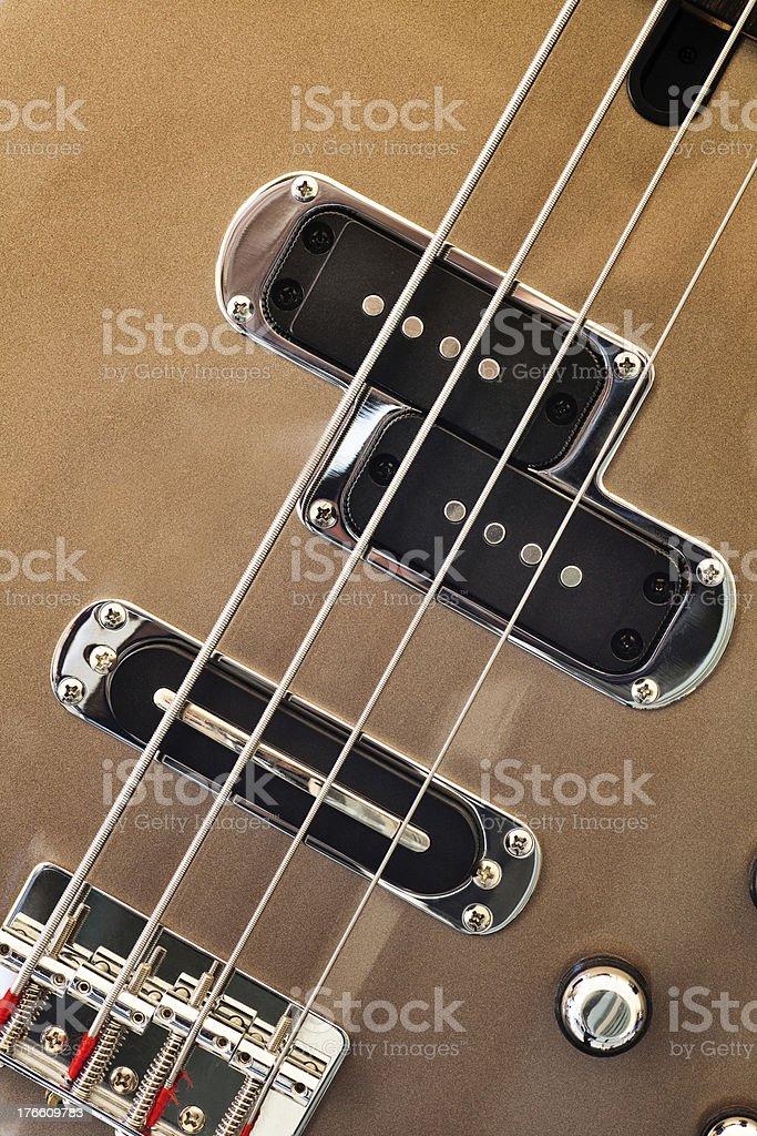 Bass Guitar Four royalty-free stock photo