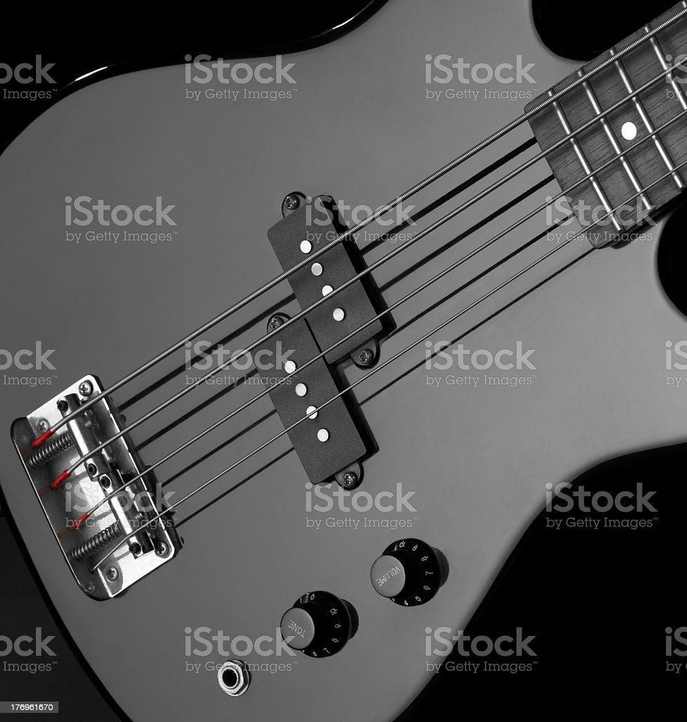 bass guitar stock photo