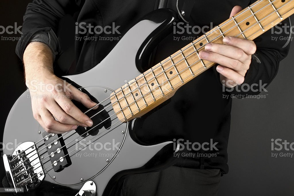 Bass Guitar royalty-free stock photo