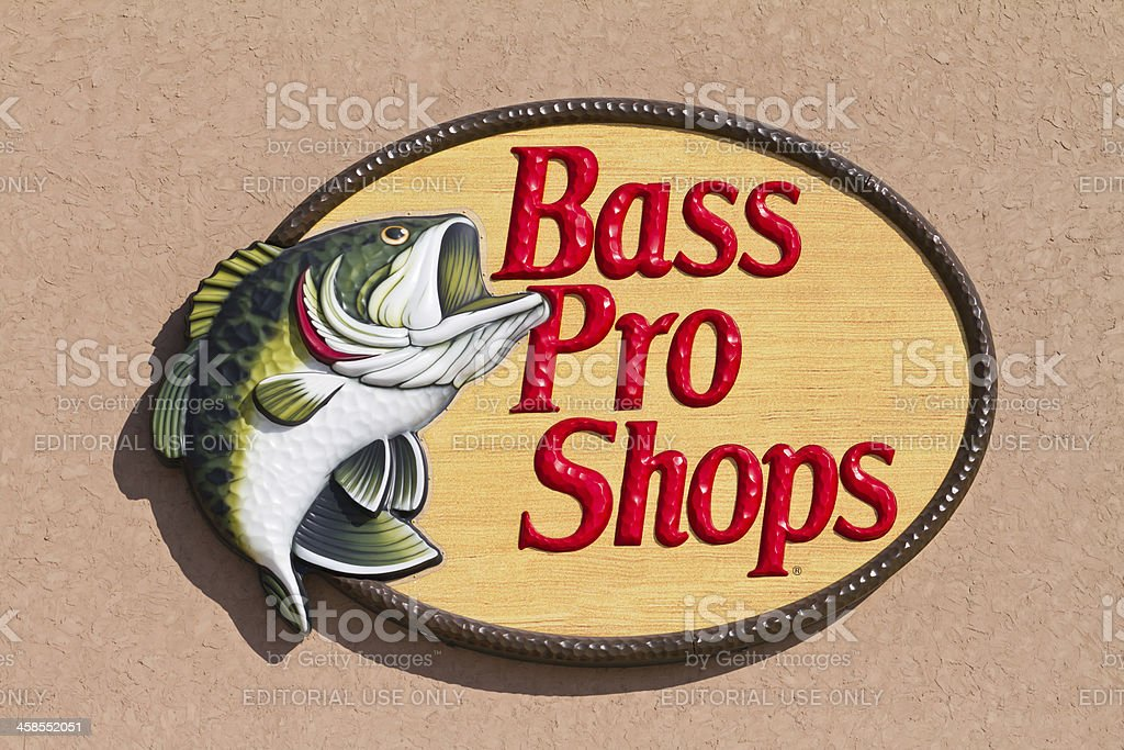 Bass Pro Shops logo stock photo