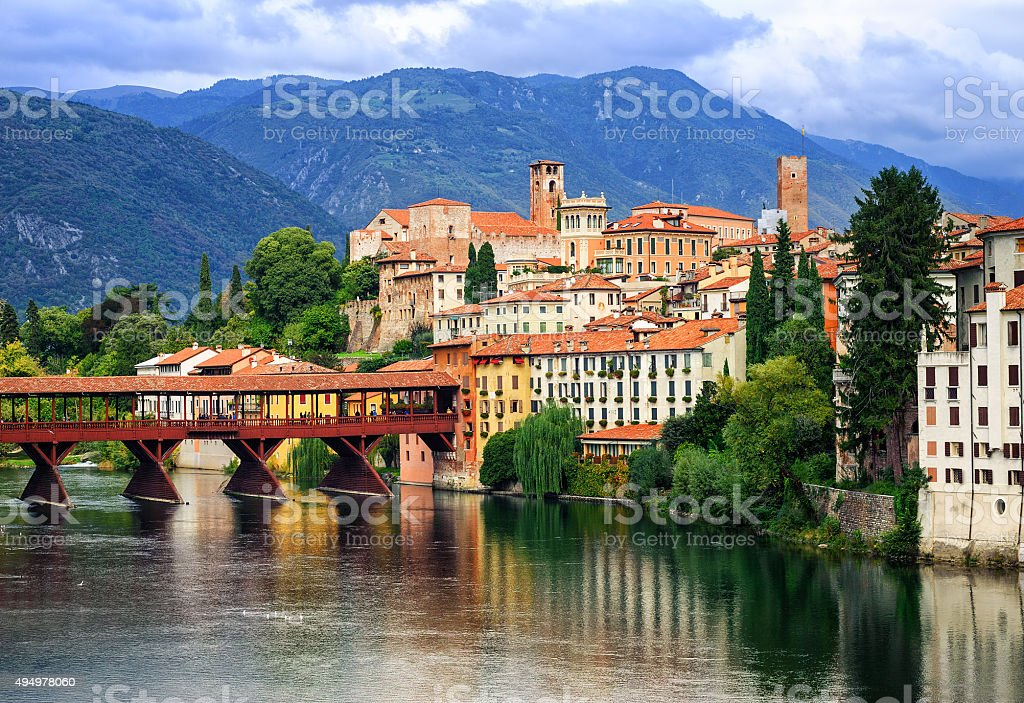 Bassano del Grappa, Veneto region, Italy stock photo