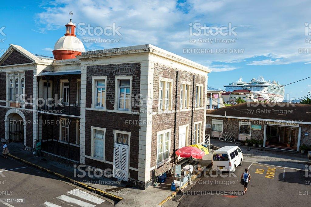 Basseterre, Saint Kitts and Nevis stock photo