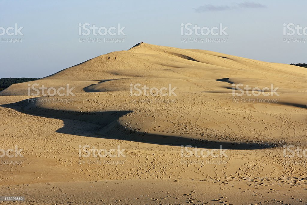 Bassin d'Arcachon - Dune of Pyla royalty-free stock photo