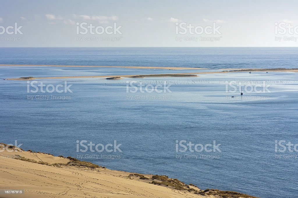 Bassin d'Arcachon - Dune of Pyla stock photo