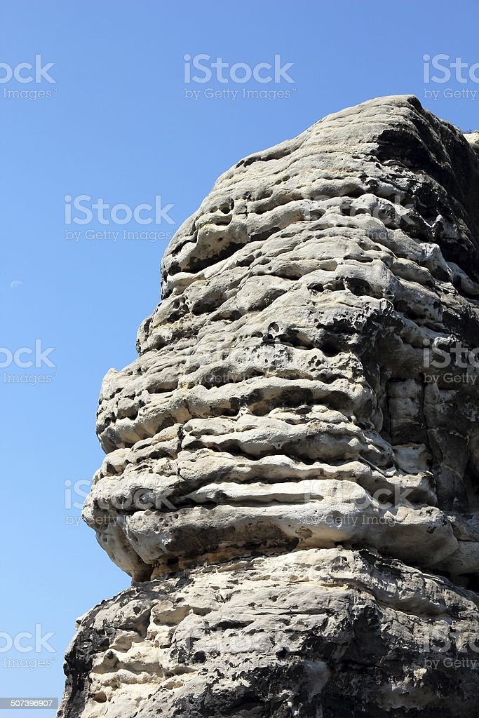 Bastei Rocks stock photo