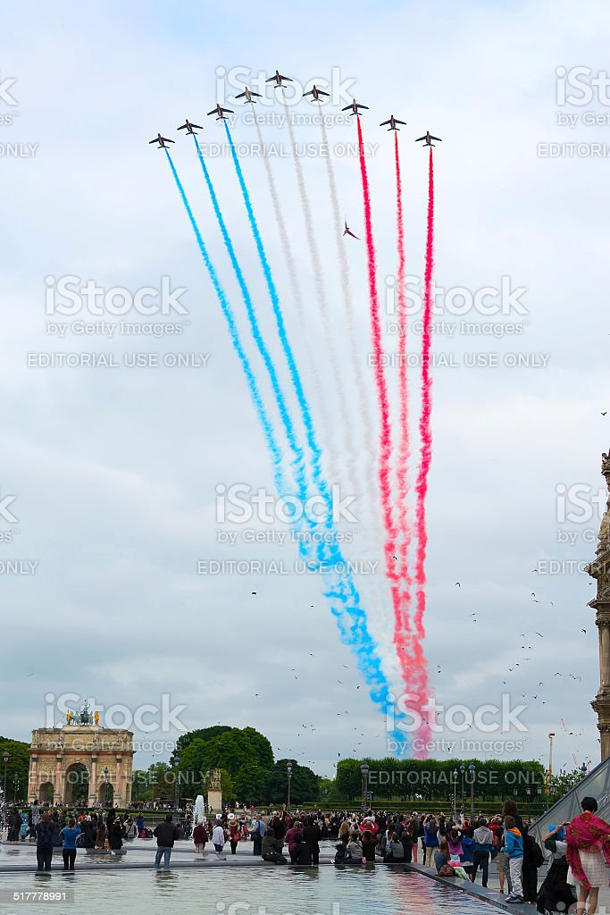 Bastille Day stock photo