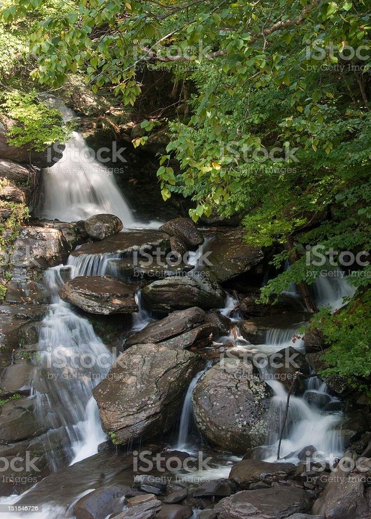 Bastion Falls stock photo