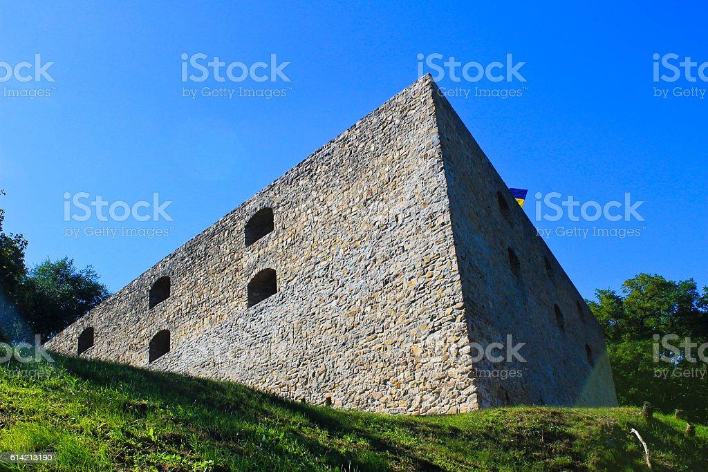 Bastion hetman Doroshenko in Chigirin, Ukraine stock photo