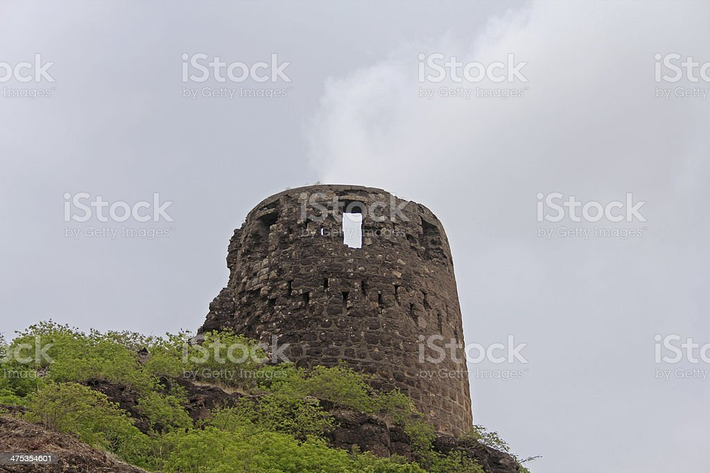 Bastion Malhargad stock photo