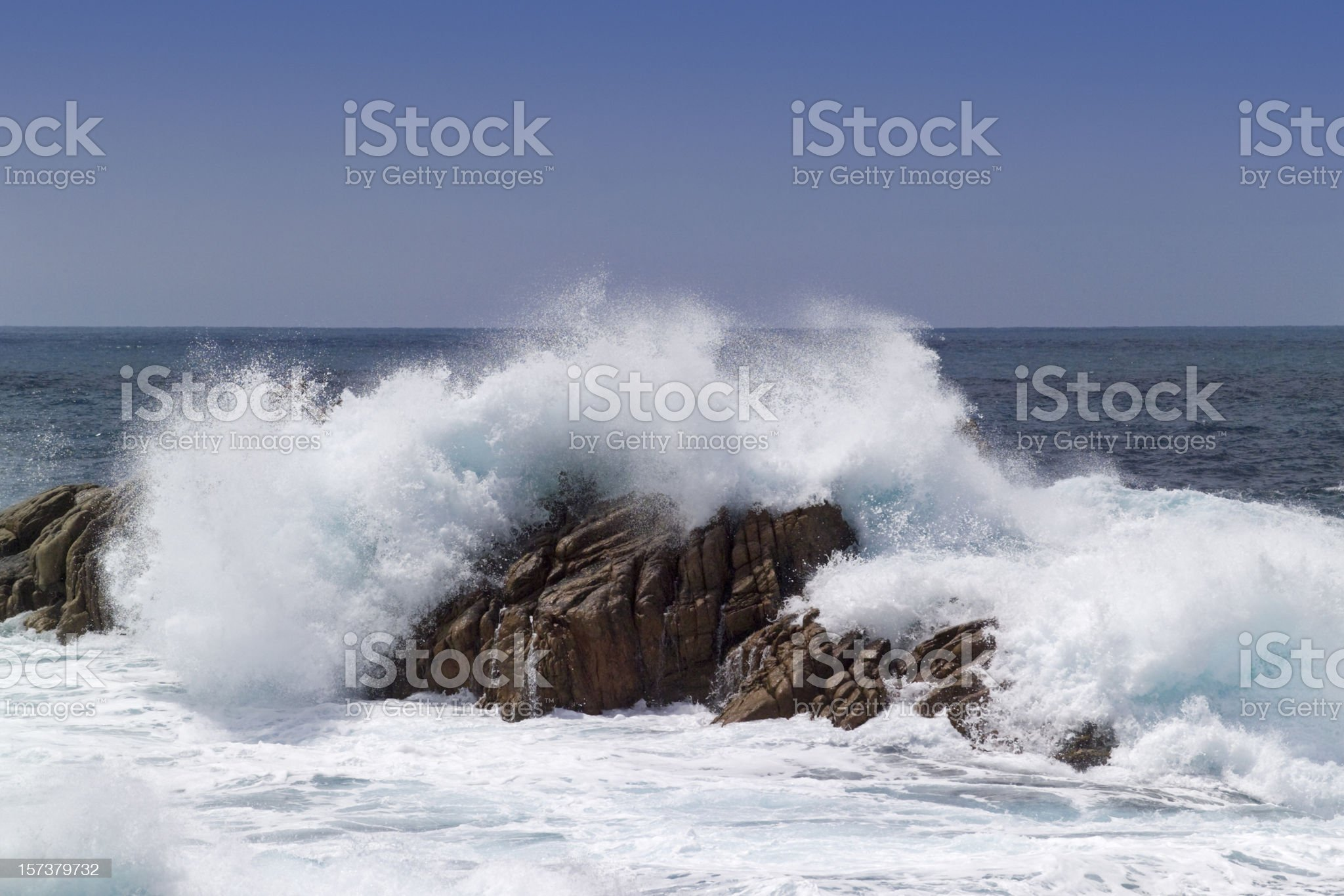 Bastion of calm royalty-free stock photo