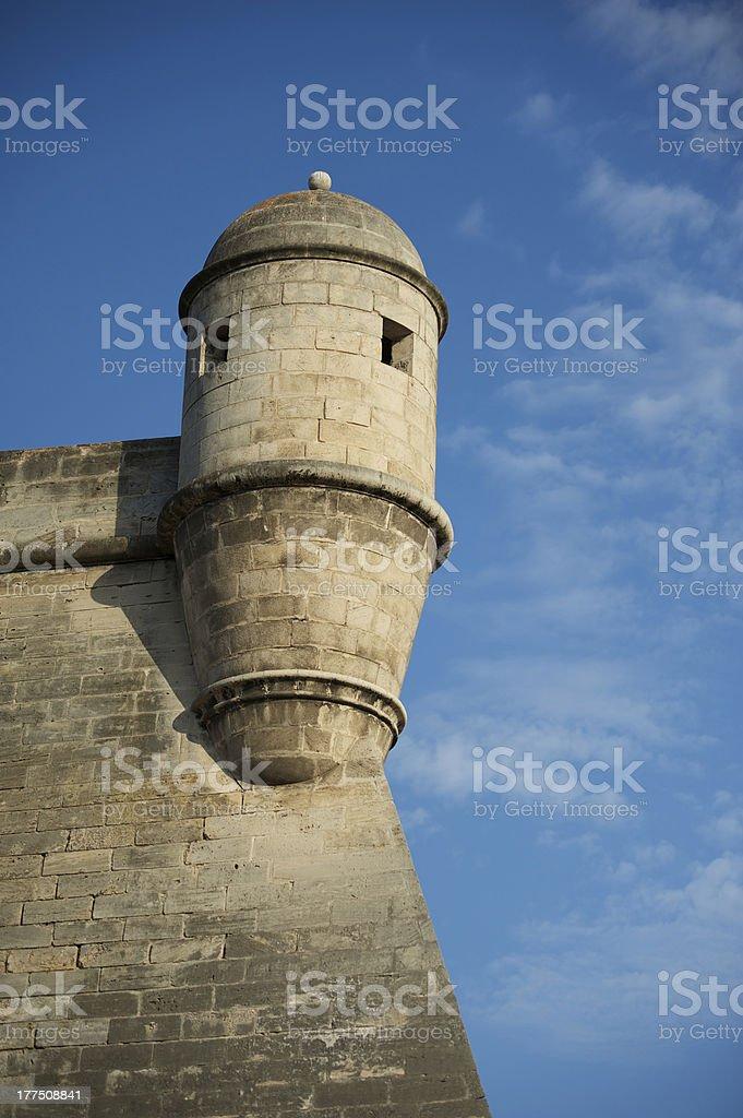 Bastion royalty-free stock photo