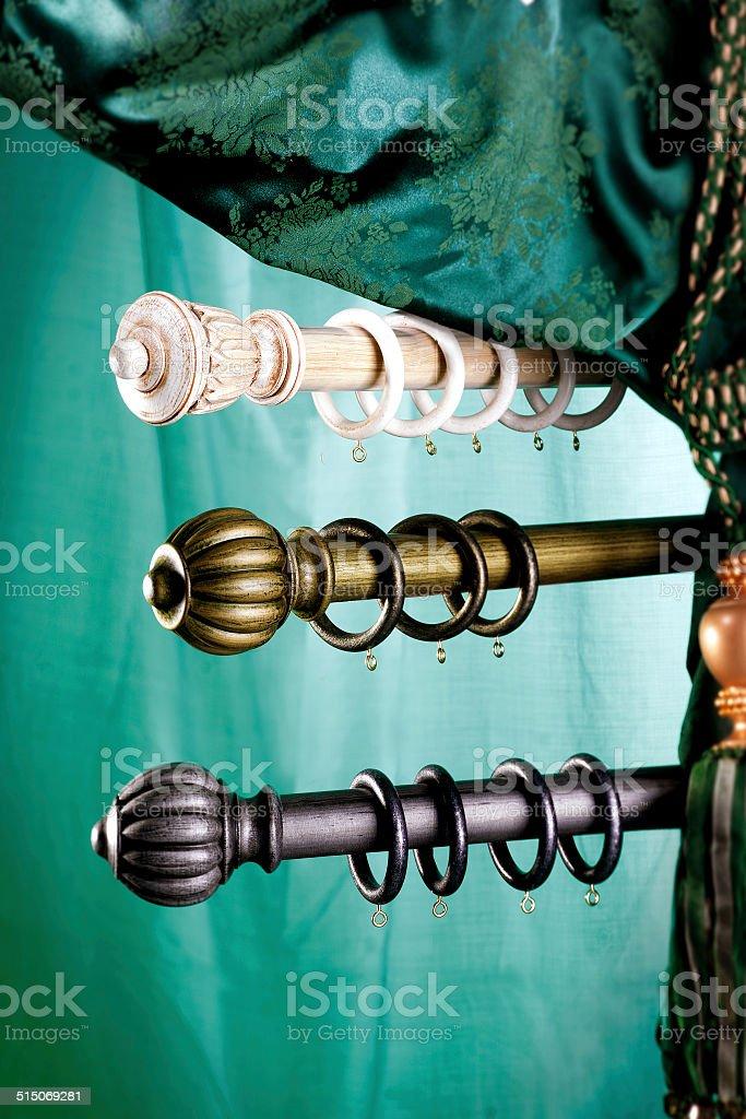 bastone per tenda stock photo