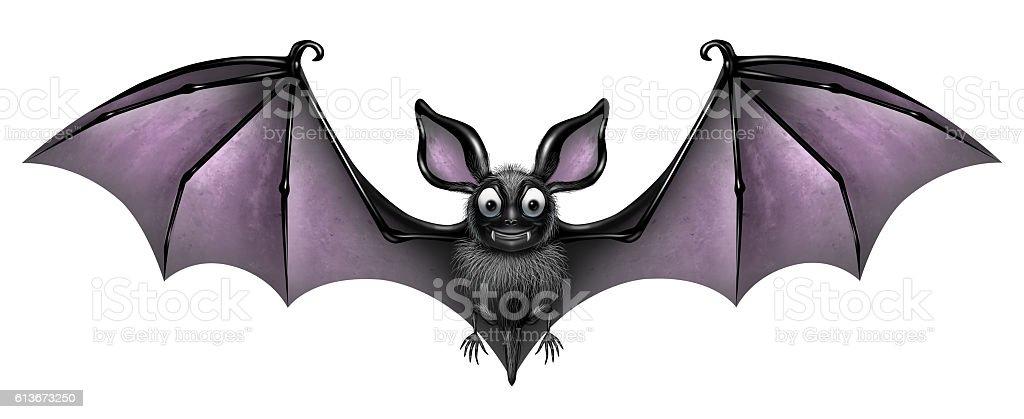 Bat Isolated stock photo