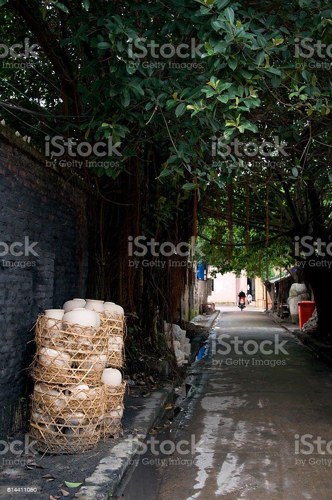 Bat Trang ceramic village, near Hanoi, Vietnam stock photo