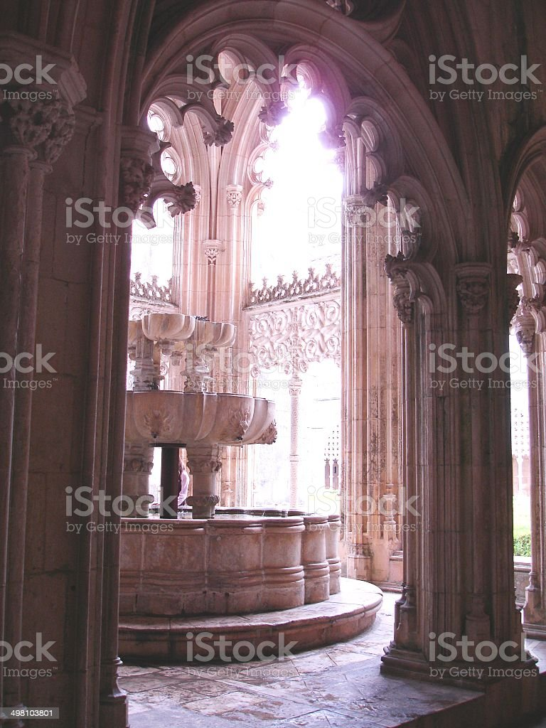 Batalha Monastery stock photo