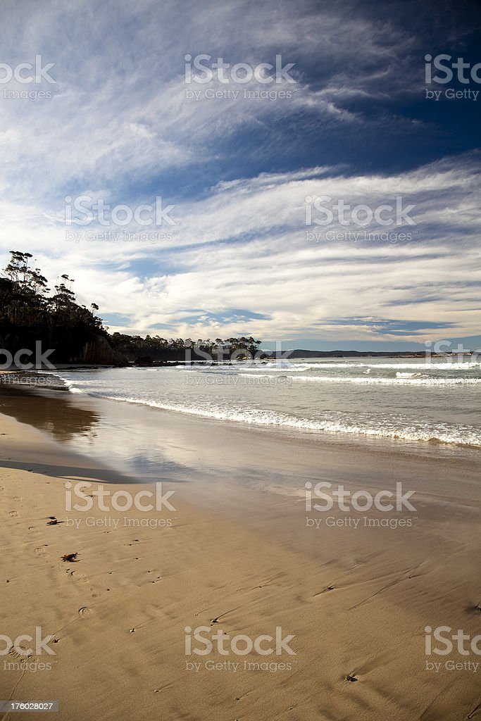 batemans bay beach scenic royalty-free stock photo