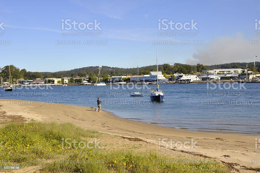 Batemans Bay stock photo