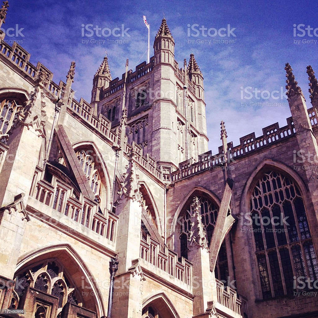 Bath Abbey royalty-free stock photo