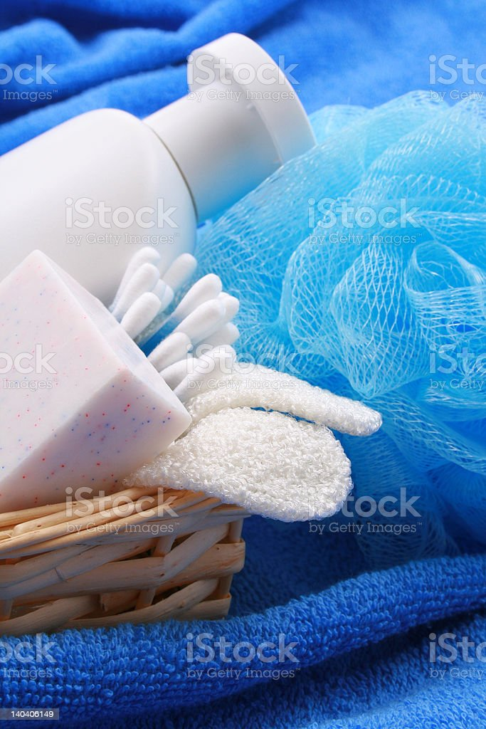 bath accessories royalty-free stock photo