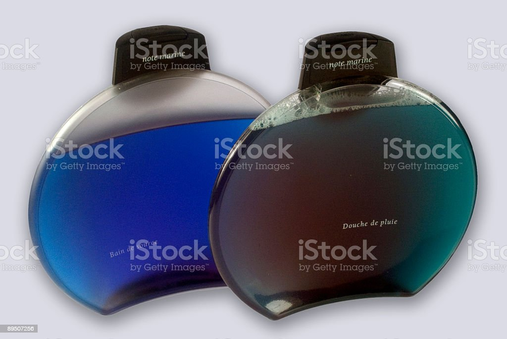 Bath and shower gel royalty-free stock photo
