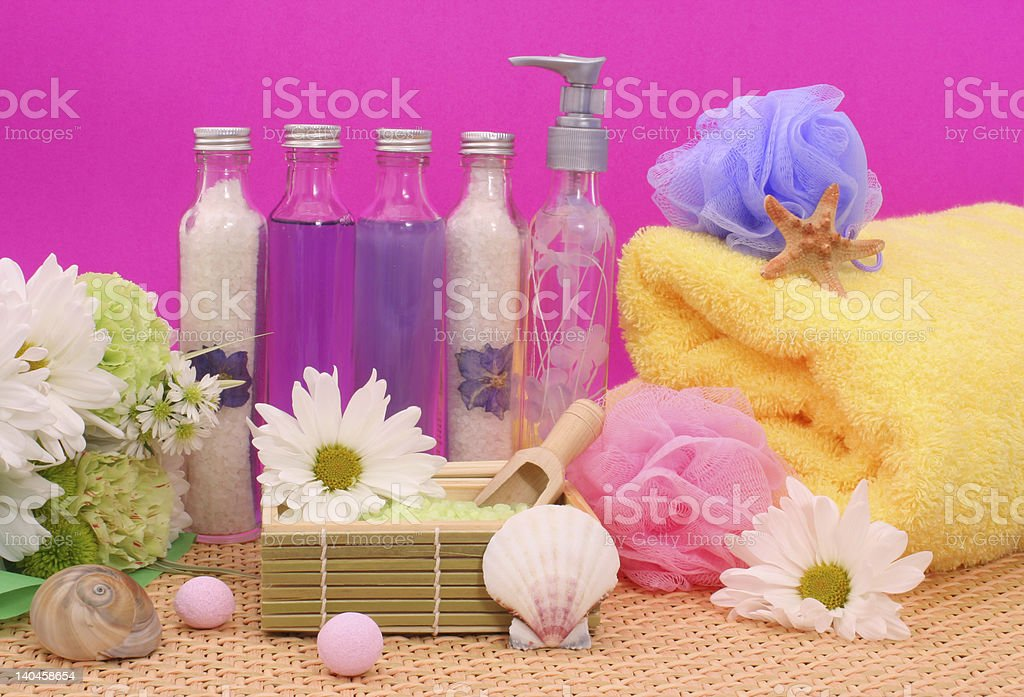 Bath and Spa Products royalty-free stock photo