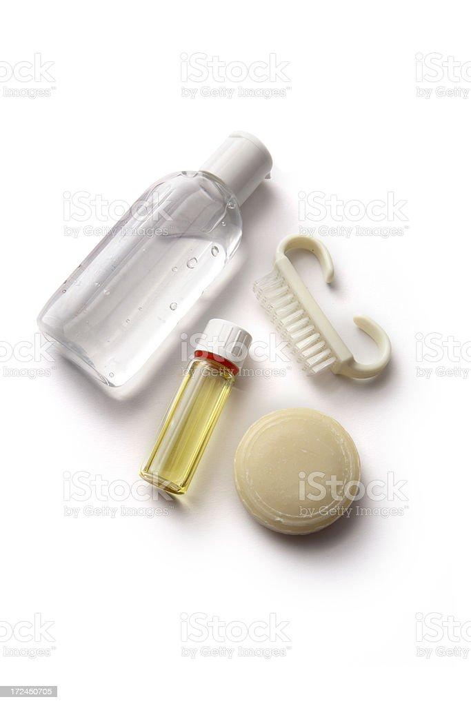 Bath: Bathroom Products royalty-free stock photo