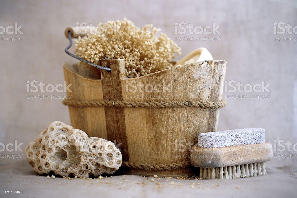 Bath decoration stock photo