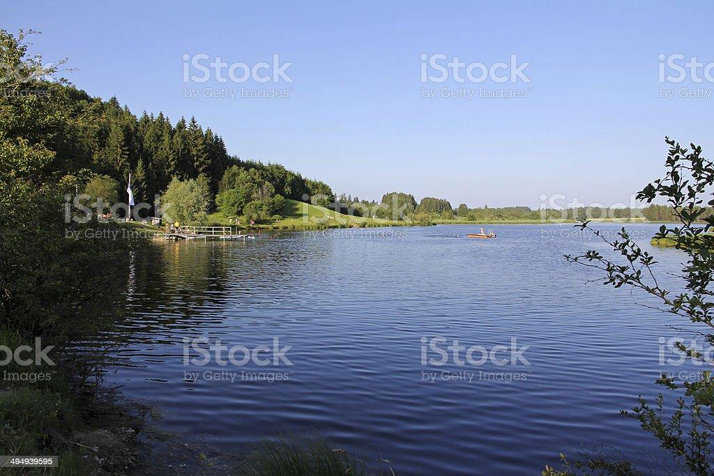 bath lake stock photo