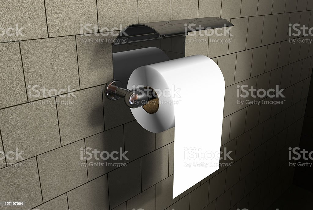 bath paper royalty-free stock photo